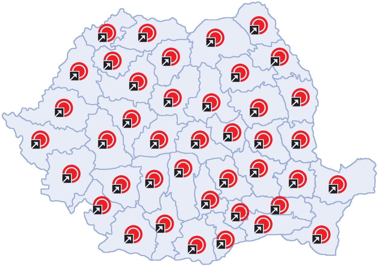 Distribuţia la nivel naţional a produselor ROMTEC AUSTRIA
