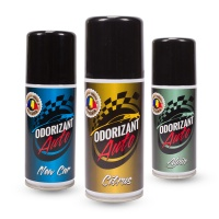Spray Odorizant Auto: Alpin, Citrus, New Car, 100ml