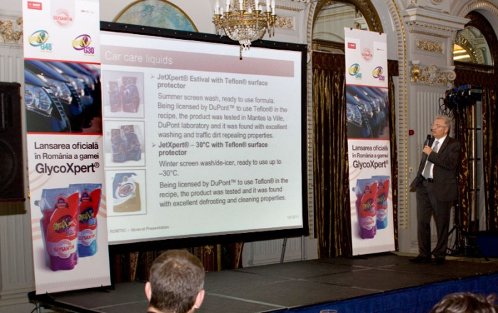 Lansarea oficială în România a gamei GlycoXpert® - Bucuresti, 12 Octombrie 2011