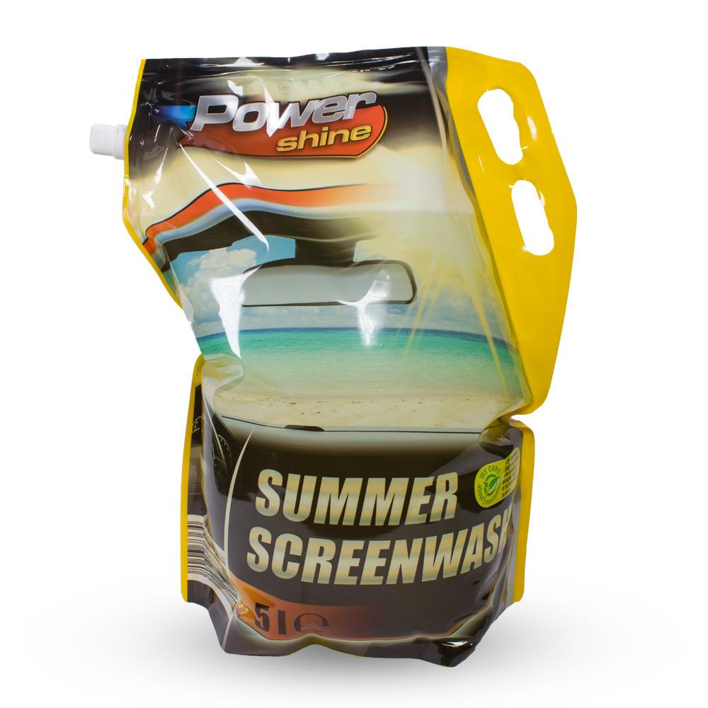 PowerShine Summer Screenwash, 5L