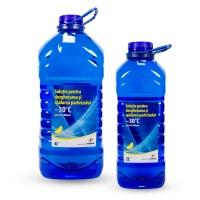 Soluţie pentru dezghețarea și spălarea parbrizului Petrom –30°C, 2L, 4L