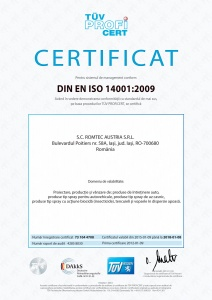 Mediu, ISO 14001:2004, TÜV Hessen