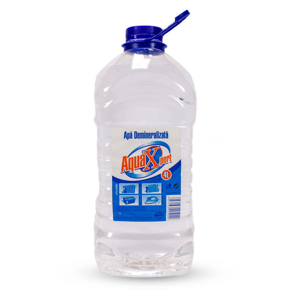 AquaXpert - Apă demineralizată, 4L
