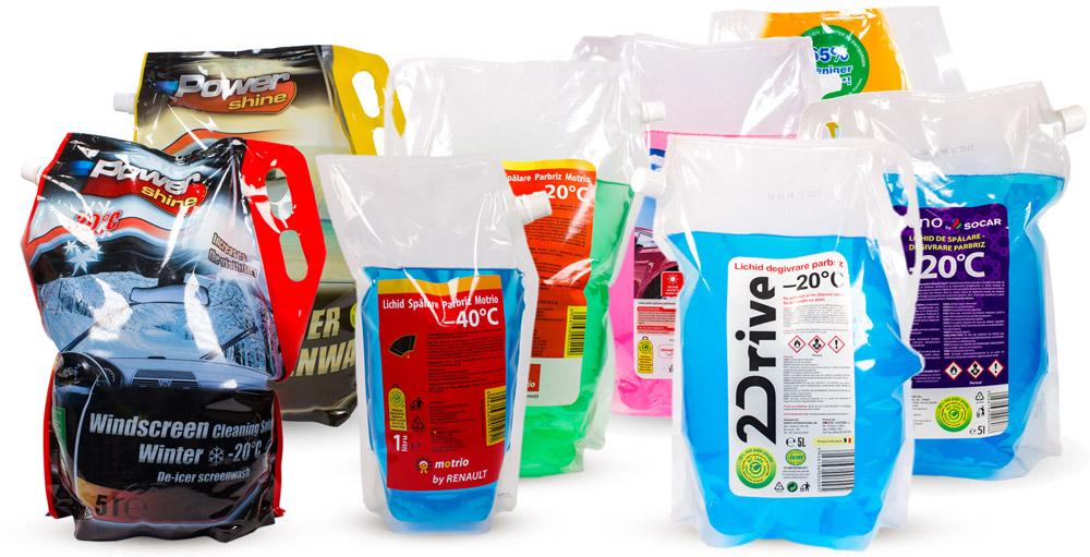 """Produse """"marcă proprie"""" fabricate de ROMTEC AUSTRIA pentru Rompetrol, Cora, Carrefour, Lidl etc"""