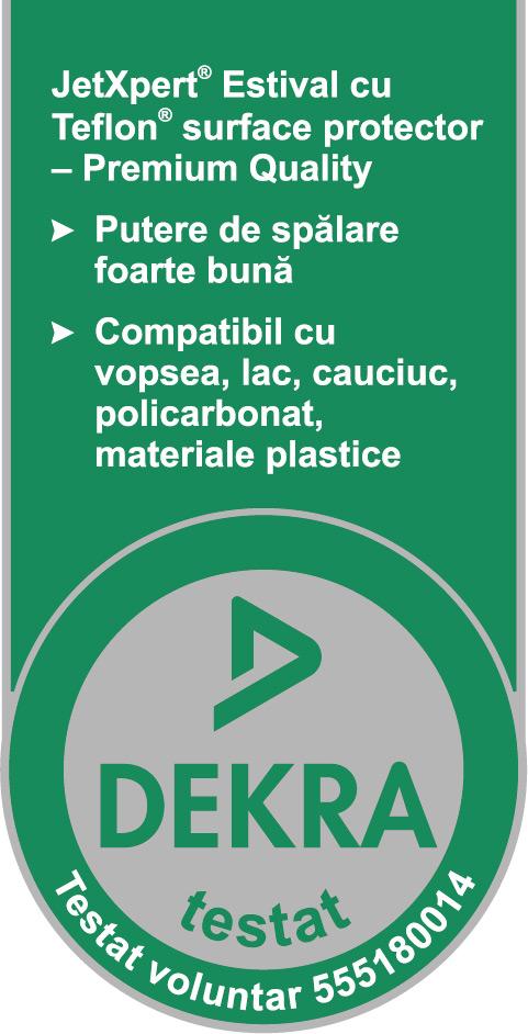 JetXpert® Estival with Teflon™ surface protector - Premium Quality