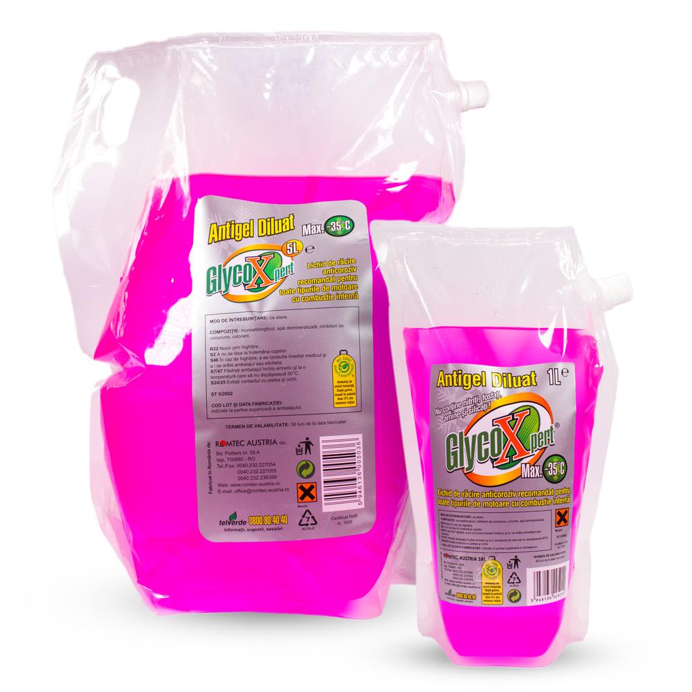 GlycoXpert® max. –35°C Antigel diluat, 1L, 5L