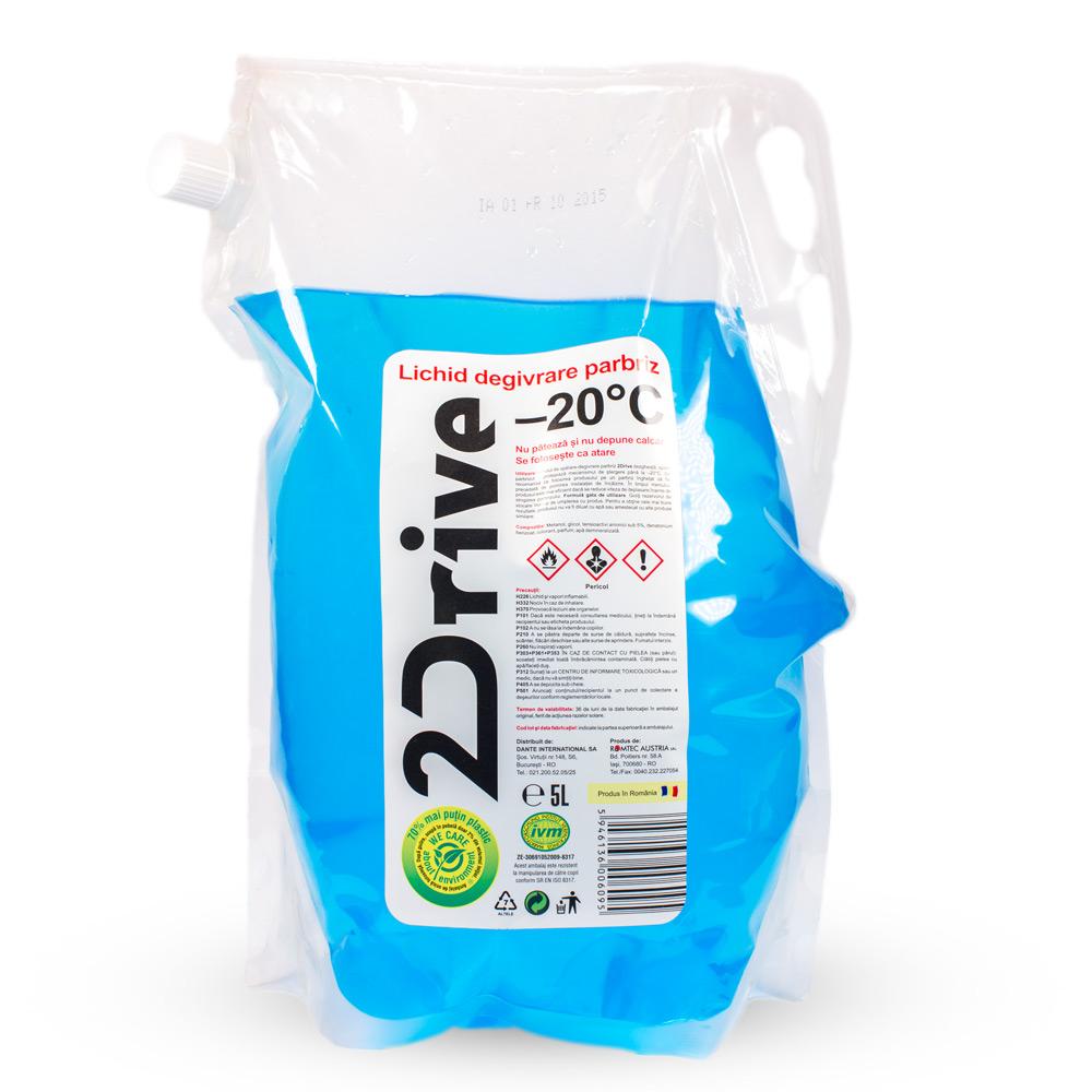 2Drive - lichid degivrare parbriz –20°C