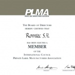 "Romtec at ""World of Private Label – 2011"" by PLMA (Private Label Manufacturers Association), Amsterdam"