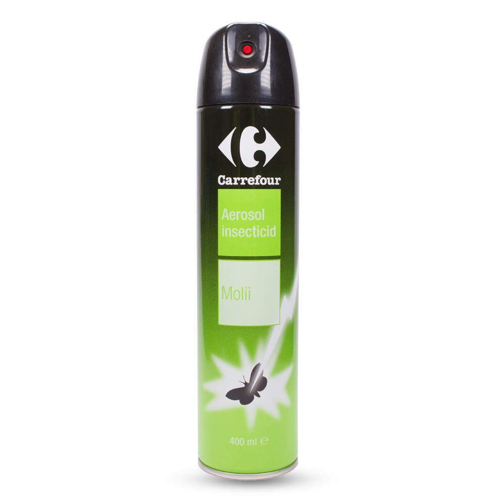 Carrefour - Aerosol insecticid - molii, 400ml