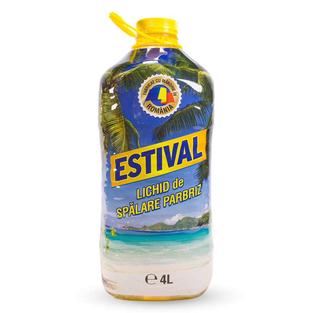 ESTIVAL - Lichid de spălare parbriz, 4L