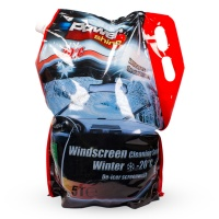 PowerShine Winter, De-icer screenwash –20°C, 5L