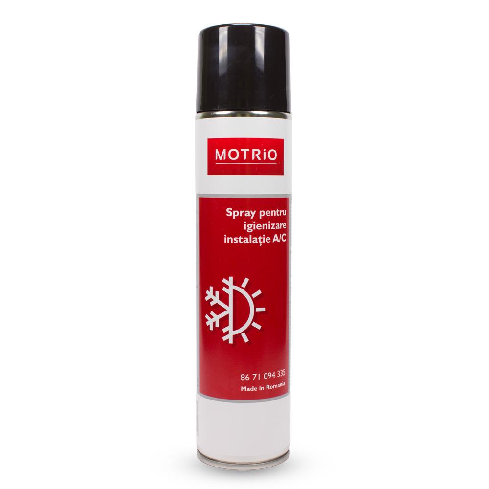 Motrio - Spray pentru pentru igienizare instalaţie AC, 400ml
