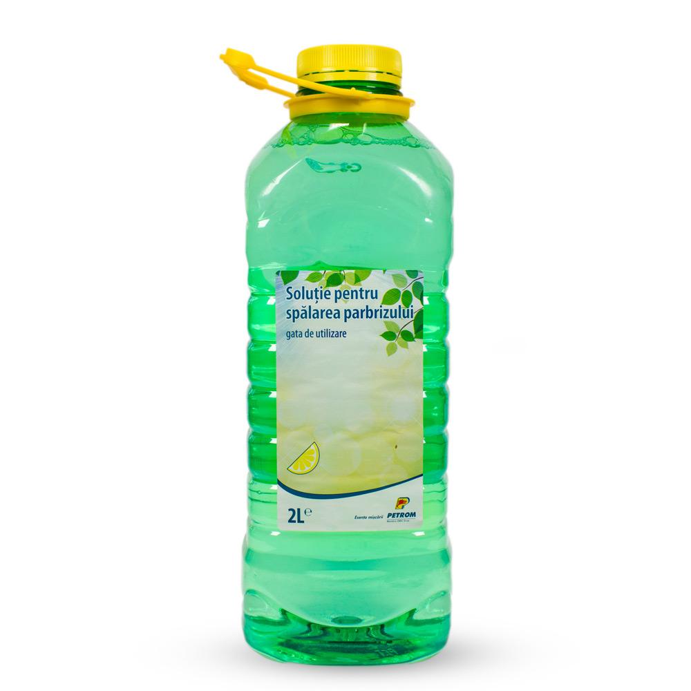 Soluţie pentru spălarea parbrizului - Petrom, 2L