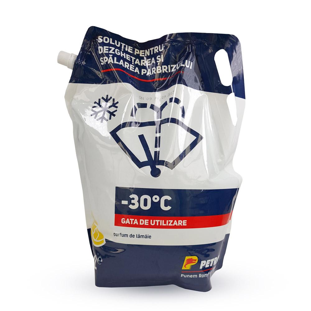 Petrom - Soluţie pentru dezghețarea și spălarea parbrizului –30°C, 4L