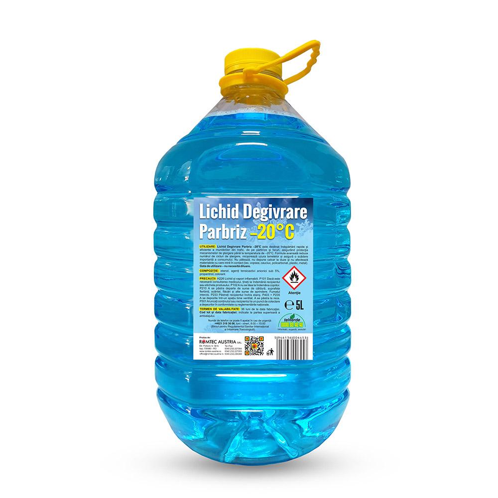 Lichid Degivrare Parbriz –20°C, 5L