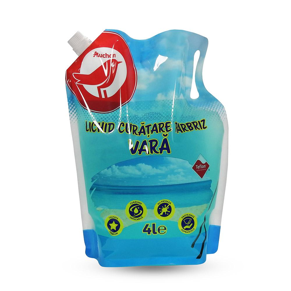 Auchan - Lichid curățare parbriz vară, 4L
